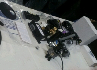 MB C 240 material antes de la instalacion GLP autogas 2